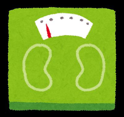 体重計のイラスト | かわいいフリー素材集 いらすとや (49244)