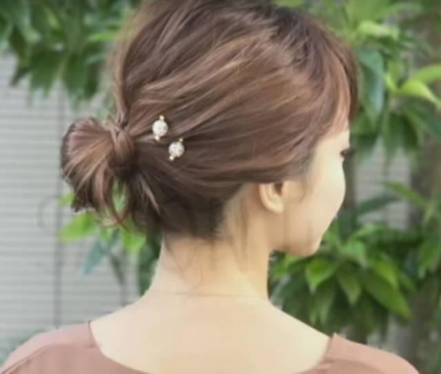 着物に合うヘアアレンジ ボブ編 SALONTube サロンチューブ 美容師 渡邊義明 - YouTube (56300)
