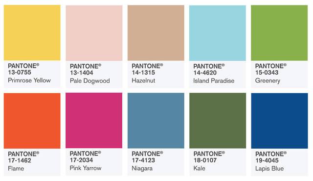 Color Intelligence , PANTONE Fashion Color Report Spring 2017 (57002)