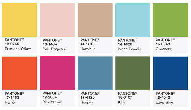 Color Intelligence - PANTONE Fashion Color Report Spring 2017 (57002)