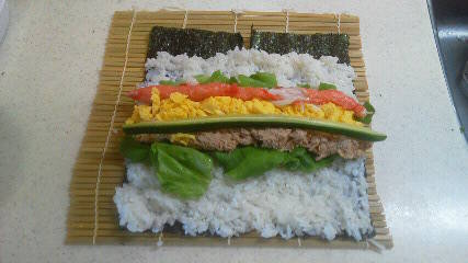 ちょっとリッチなサラダ巻き(巻き方付き) by marriott 【クックパッド】 簡単おいしいみんなのレシピが278万品 (95963)