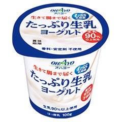 オハヨー たっぷり生乳ヨーグルト