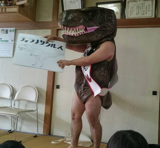 ティラノサウルス寺野さん