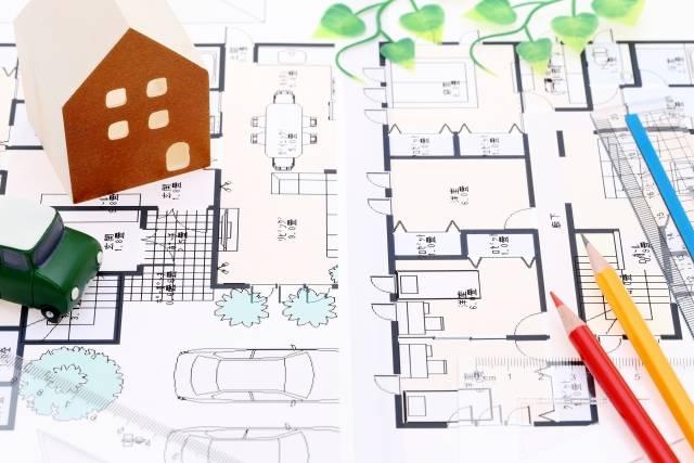 家 図面 設計図 住宅設計|写真素材なら「写真AC」無料(フリー)ダウンロードOK (115060)