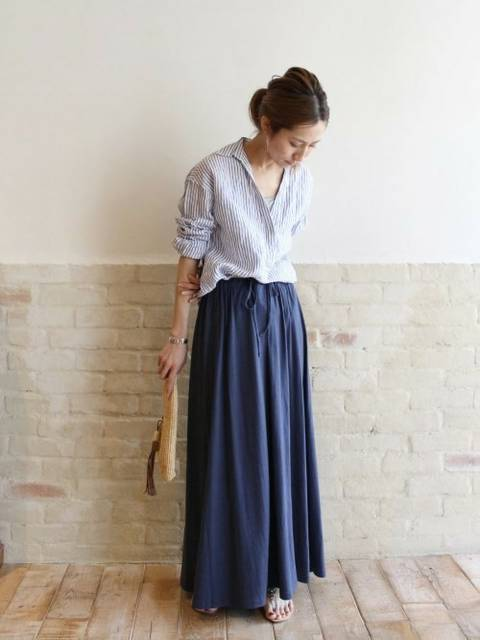 haru(Spick & Span 本社)|FRAMeWORKのシャツ/ブラウスを使ったコーディネート - WEAR (143841)