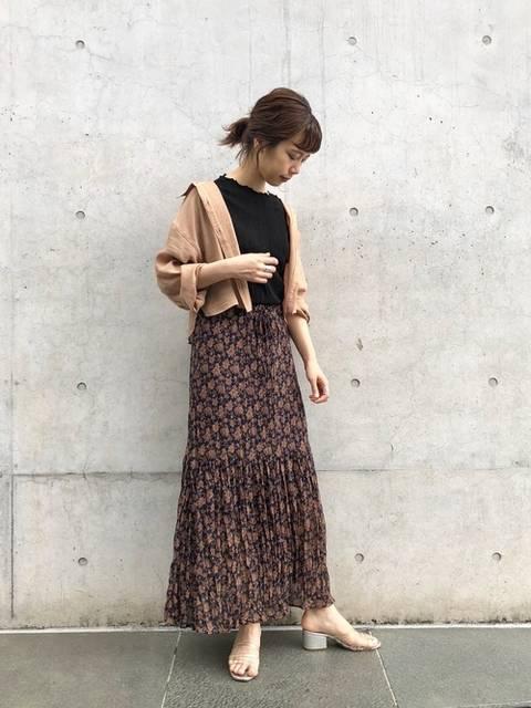 かとまり(Kastane 名古屋店)|Kastaneのスカートを使ったコーディネート - WEAR (148709)