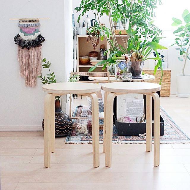 リビング/IKEA/イケア/スツール/しただけ/weaving...などのインテリア実例 - 2016-08-25 11:00:10 | RoomClip(ルームクリップ) (150156)