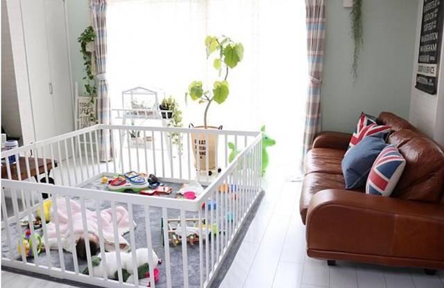 赤ちゃんのいる部屋のレイアウト12選~リビング・おむつ ...