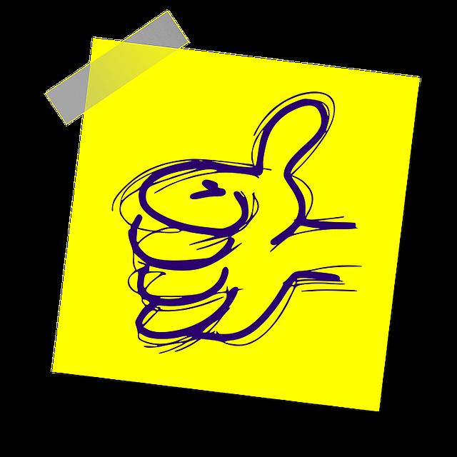 Free illustration: Thumb Up, Thumb, Thumbs Up - Free Image on Pixabay - 1460528 (4134)