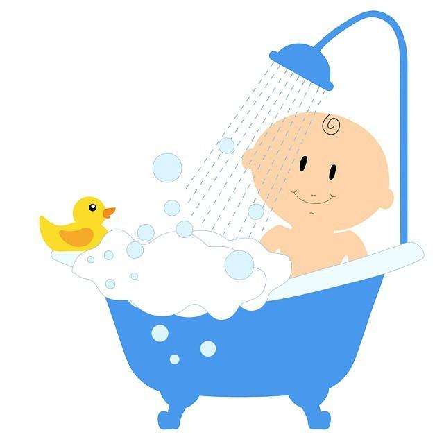 Free illustration: Baby, Bath, Shower, Bath Tub, Child - Free Image on Pixabay - 875085 (16774)