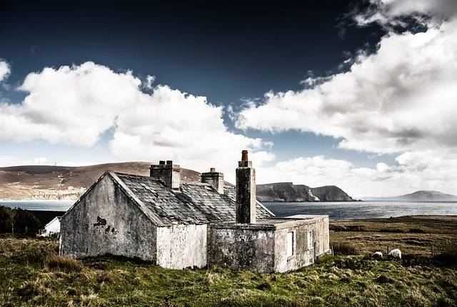 Free photo: Hut, Ruin, Ireland - Free Image on Pixabay - 209466 (22213)