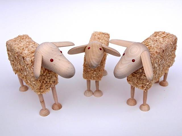 Free photo: Sheep, Wooden Sheep, Wood Wool - Free Image on Pixabay - 1684851 (23775)