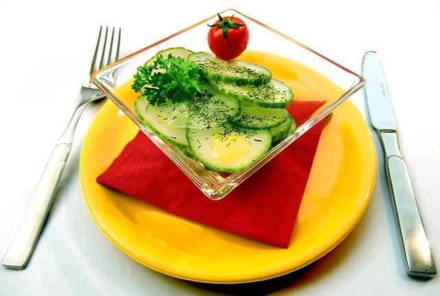 Free photo: Salad, Cucumbers, Vitamins, Healthy - Free Image on Pixabay - 652503 (27148)