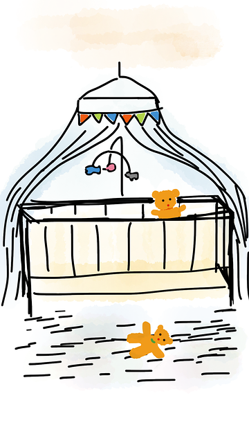 Free illustration: Crib, Bedding, Teddy Bear, Bears - Free Image on Pixabay - 1306995 (31057)