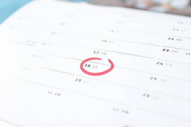 Free photo: Time, Calendar, Saturday, Weekend - Free Image on Pixabay - 273857 (36983)