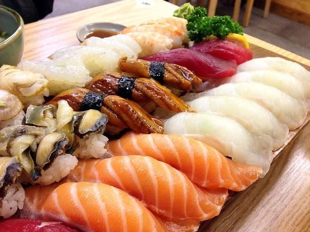 Free photo: Sushi, Japanese, Salmon, Eels, Time - Free Image on Pixabay - 1958247 (37064)