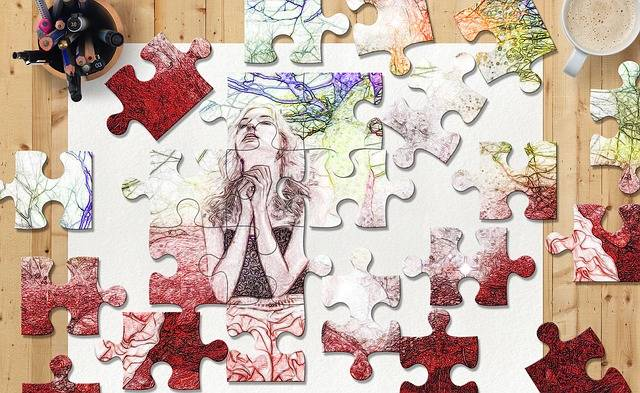 Free illustration: Puzzle, Sketch, Colors, Woman - Free Image on Pixabay - 1415247 (47322)