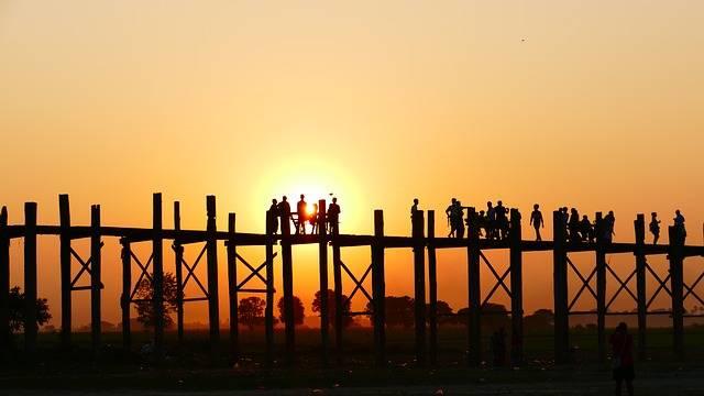 Free photo: U Leg Bridge, Teak Bridge, Old - Free Image on Pixabay - 1370430 (48357)