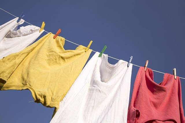 Free photo: Washing, Blue Sky, Clothes - Free Image on Pixabay - 506124 (49190)
