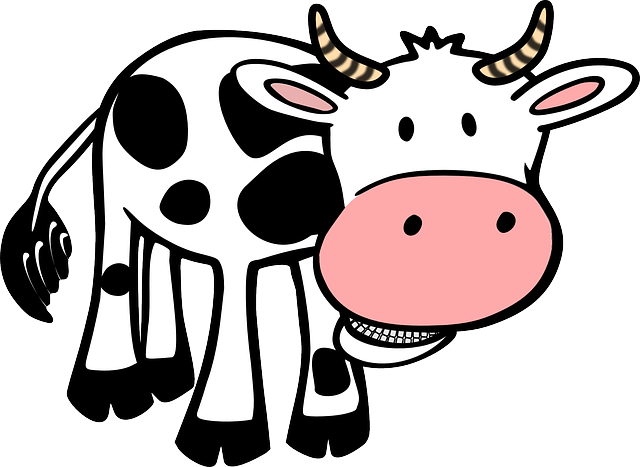 Free vector graphic: Cow, Food, Farm, Animal, Horns - Free Image on Pixabay - 48494 (52053)