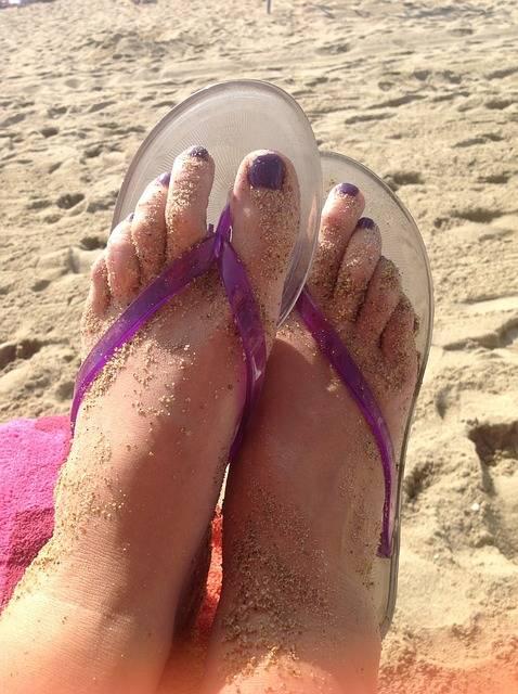 Free photo: Feet, Flip Flops, Pedicure - Free Image on Pixabay - 428263 (52167)