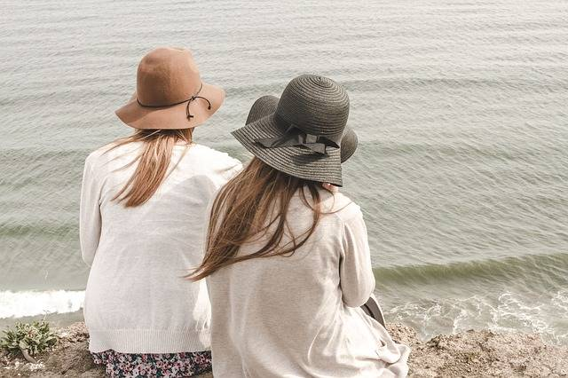 Free photo: Beach, Hats, Ocean, Outdoors - Free Image on Pixabay - 1868132 (53060)