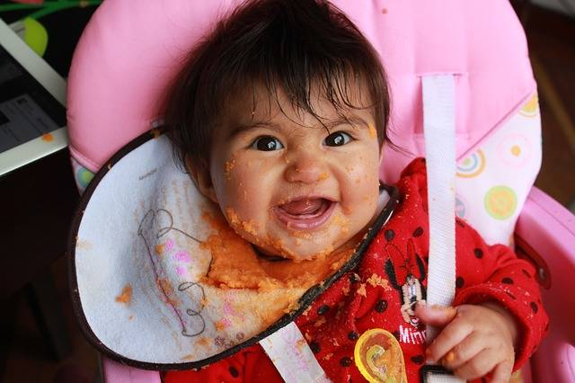 Free photo: Laura Isabel, Baby, Carrot Puree - Free Image on Pixabay - 879815 (59256)