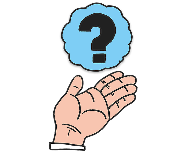 Free illustration: Hand, Question, Questions - Free Image on Pixabay - 1218086 (60436)