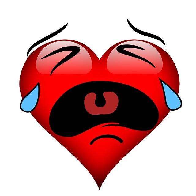 Free illustration: Heart, Burst Into Tears, Tears - Free Image on Pixabay - 2081612 (62423)