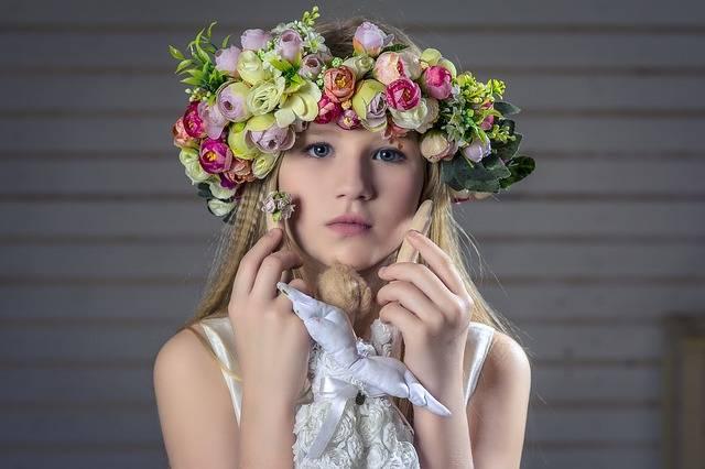 Free photo: Portrait, Girl, Wreath, Hair - Free Image on Pixabay - 804062 (63203)
