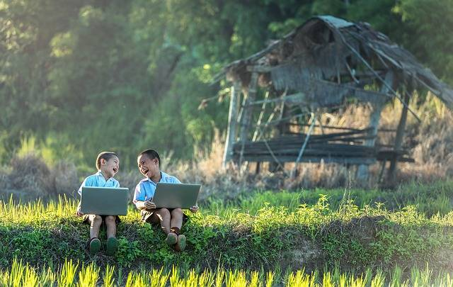 Free photo: Children, Laugh, Study Of, Laptop - Free Image on Pixabay - 1822471 (65304)