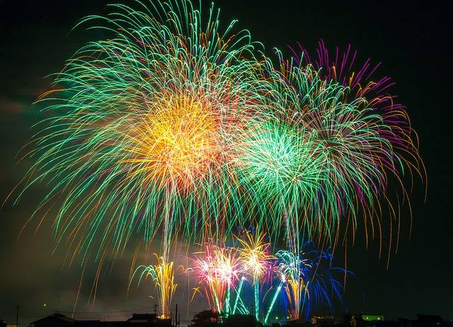 Free photo: Fireworks, Light, Japan, Festival - Free Image on Pixabay - 180553 (65530)