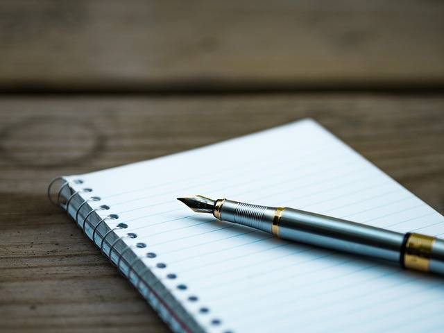Free photo: Fountain Pen, Note, Notebook, Page - Free Image on Pixabay - 1851096 (66165)