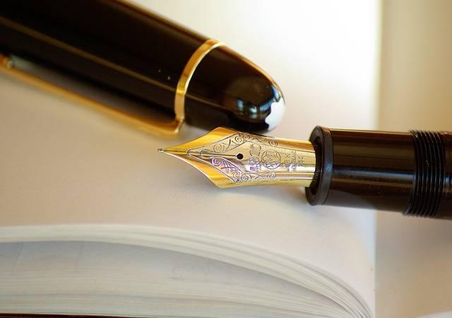 Free photo: Pen, Fountain Pen, Ink, Gold - Free Image on Pixabay - 631321 (66370)