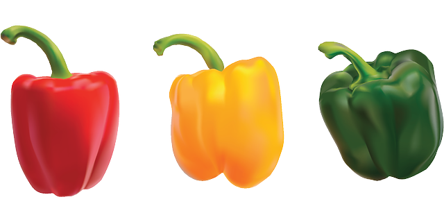 Free vector graphic: Peppers, Bell Pepper, Sweet Pepper - Free Image on Pixabay - 154377 (67107)