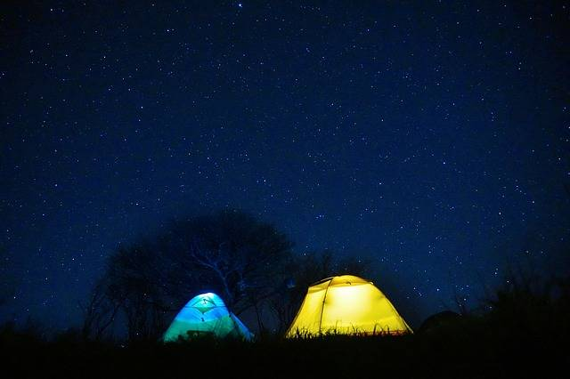 Free photo: Starry Sky, Tent, Night - Free Image on Pixabay - 2285950 (67271)