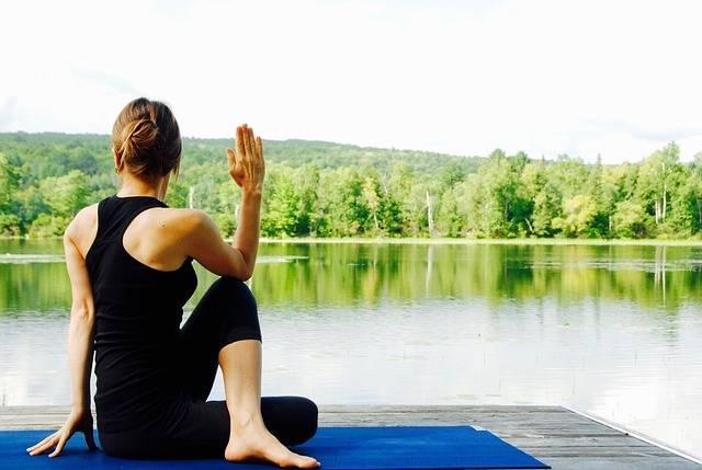 Free photo: Yoga, Woman, Nature, Landscape - Free Image on Pixabay - 1812695 (70107)
