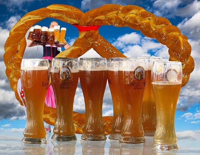 Free illustration: Breze, Pretzel, Beer, Wheat Beer - Free Image on Pixabay - 1611750 (73850)