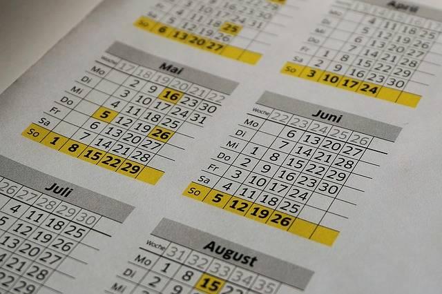 Free photo: Calendar, Year Calendar, Office - Free Image on Pixabay - 1255951 (74445)