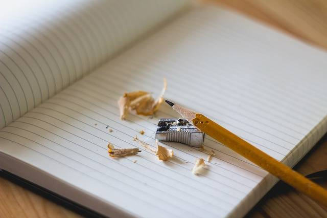 Free photo: Pencil, Sharpener, Notebook, Paper - Free Image on Pixabay - 918449 (75452)
