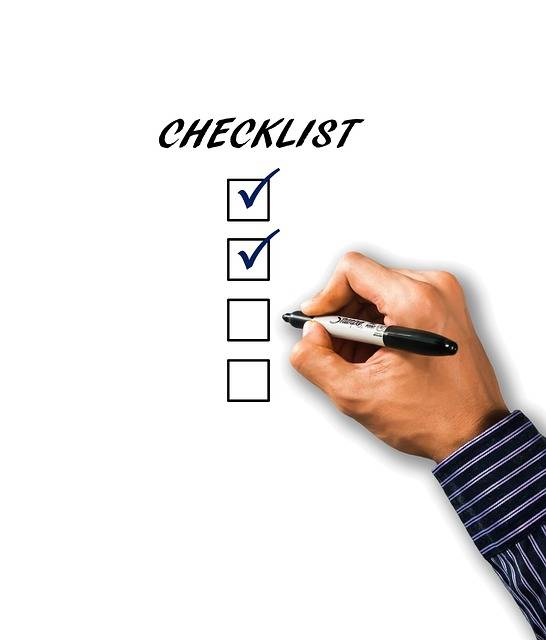 Free photo: Checklist, List, Hand, Pen - Free Image on Pixabay - 1919292 (78506)