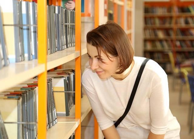 Free photo: Library, Books, Girl, Smart - Free Image on Pixabay - 2128813 (80990)
