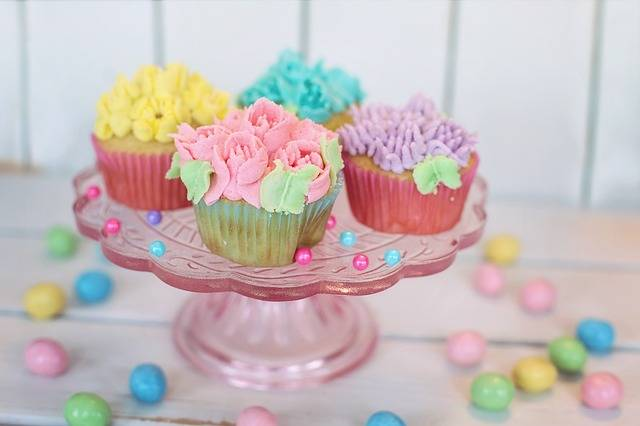 Free photo: Cupcakes, Floral, Pastel, Easter - Free Image on Pixabay - 2209476 (82340)