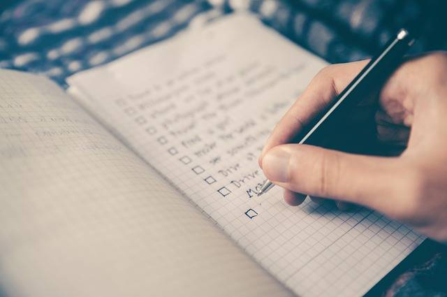 Free photo: Checklist, Goals, Box, Notebook - Free Image on Pixabay - 2589418 (84318)