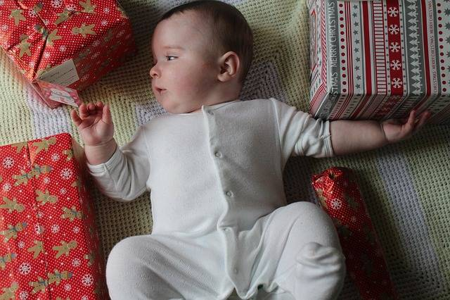 Free photo: Baby, Baby Grow, Christmas, Curious - Free Image on Pixabay - 2178653 (85878)