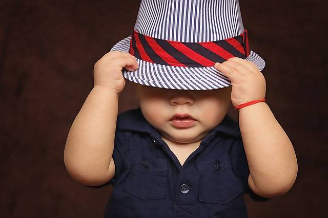 Free photo: Baby, Boy, Hat, Covered, Eyes - Free Image on Pixabay - 1399332 (86886)
