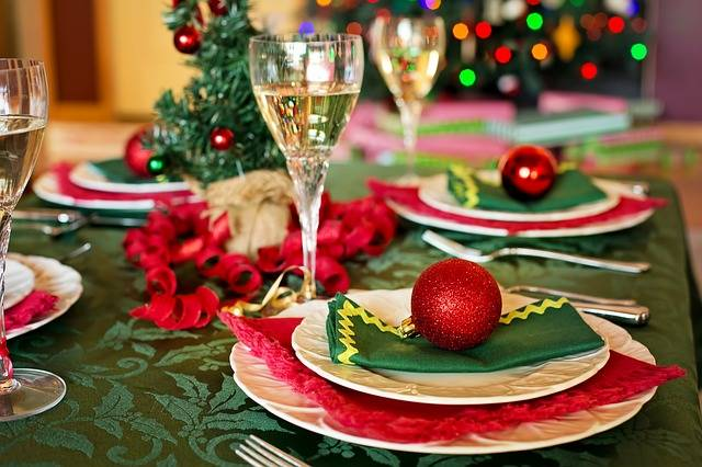 Free photo: Christmas Table, Christmas Dinner - Free Image on Pixabay - 1909796 (88618)