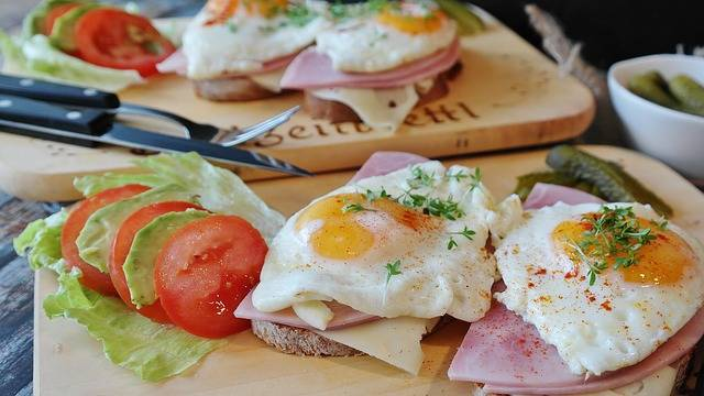 Free photo: Fried Eggs, Bread, Ham, Tight Max - Free Image on Pixabay - 2796406 (89763)