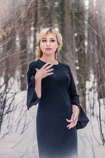 Free photo: Forest, Black Dress, Gothic, Gloomy - Free Image on Pixabay - 2981238 (98157)
