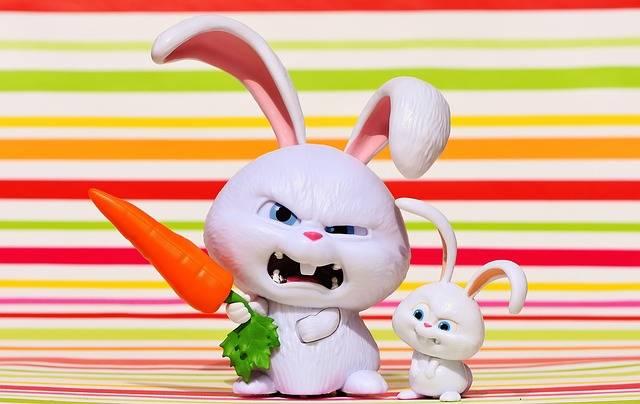 Free photo: Hare, Evil, Snowball - Free Image on Pixabay - 1631435 (98715)